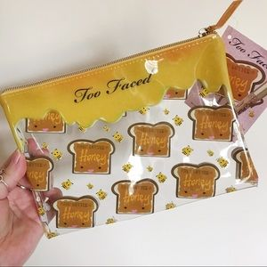 Too Faced limited edition makeup bag